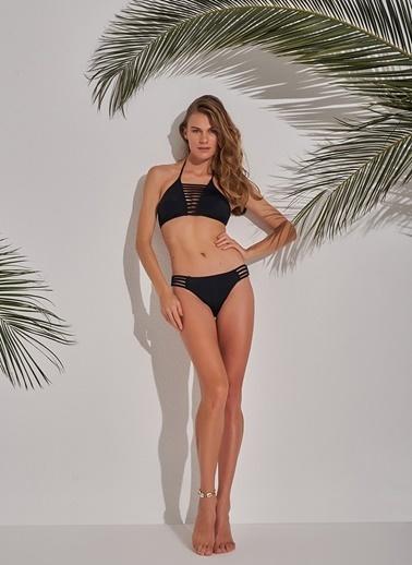 Morhipo Beach Biye Detaylı Bikini Siyah